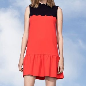 Victoria Beckham for Target Red & Black dress NWT